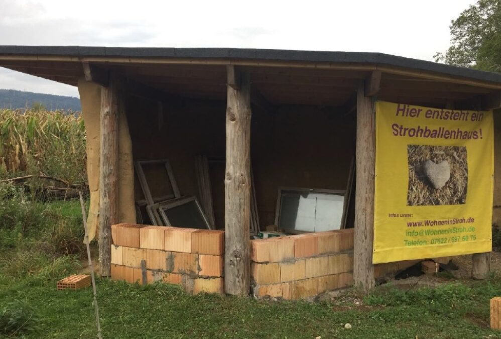 Fortschritt beim Hüttenbau